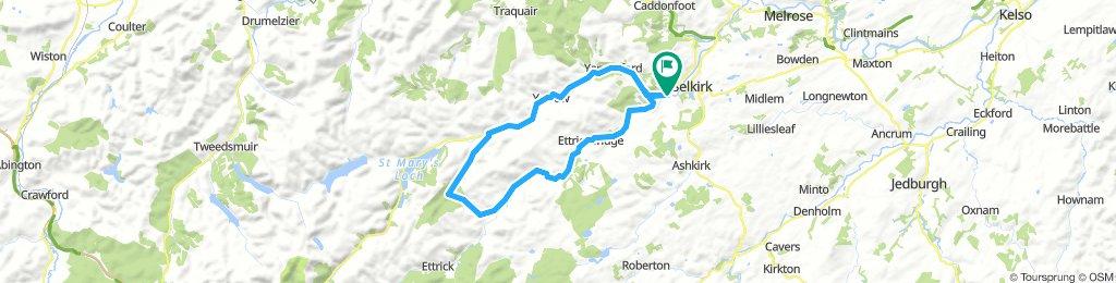 Waterwheel cafe (Selkirk) - Ettrickbridge - Ettrick - Yarrow
