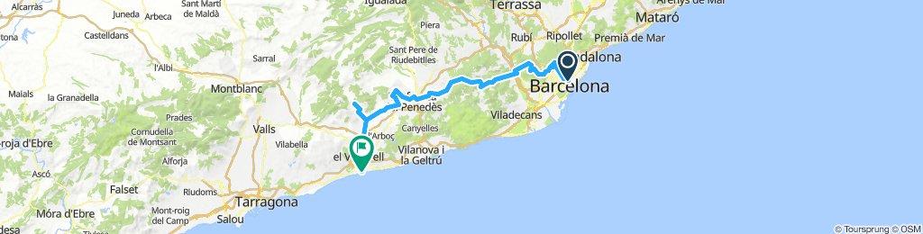 20101012 Casp-Tibidabo-Molins-L'Ordal-Vilafranca-La Bleda-Les Ventose-Sant Jaume-Sant Salvador