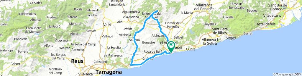 20181014 Sant Salvador-Altafulla-Salomó-Mas Llorenç-Coll de l'Arca-Sant Salvador