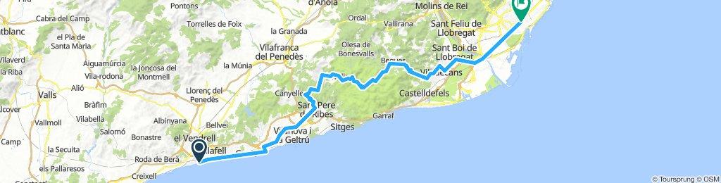 20181014 Sant Salvador-Olivella-Begues-Casa