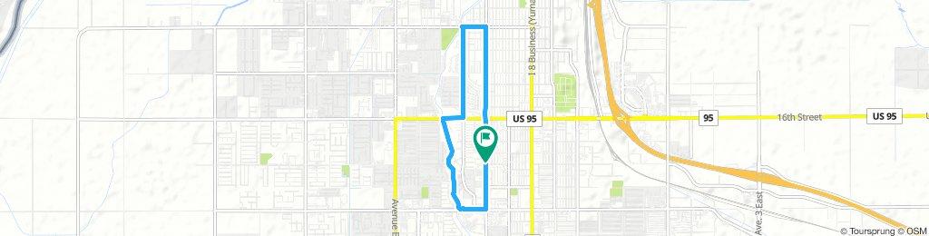 basic 5 mile ride