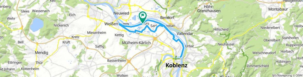Rheintour mit Abwegen