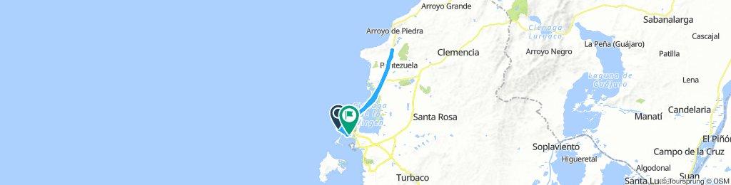 parque de la marina - peaje marahuaco