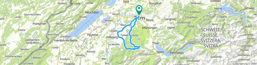 Wylerguet - Gurnigel (via Sangernboden)