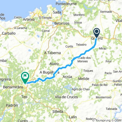 11 Guitiriz - Vilanova - Salceda - Santiago de Compostela  km 79