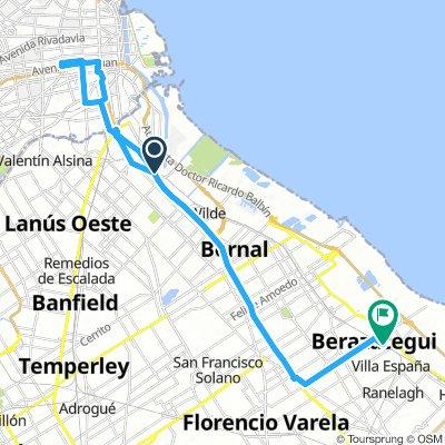 De Sarandí a Buenos Aires y vuelta a Berazategui