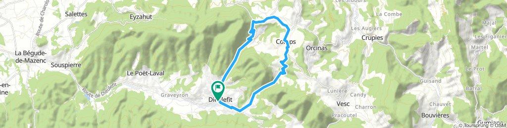 Steady Mardi Course In Dieulefit