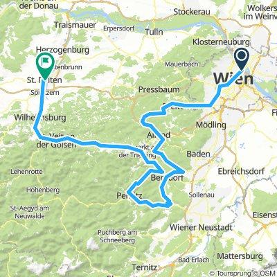 Tour de Alps / 1. Etappe