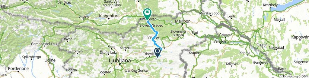 ALPEN 022: Rimske Toplice - Dravograd