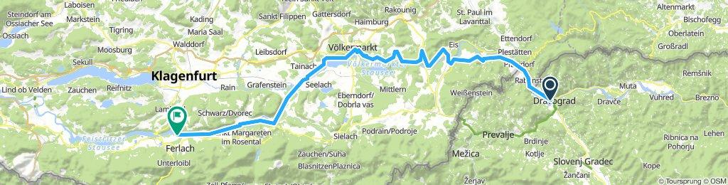 ALPEN 023: Dravograd - Ferlach/Drau
