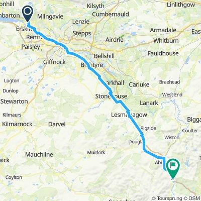 Road to Scotland - Etape 12 - 09 juin 2019 - Dalnottar to Elvanfoot - 89km 650D+
