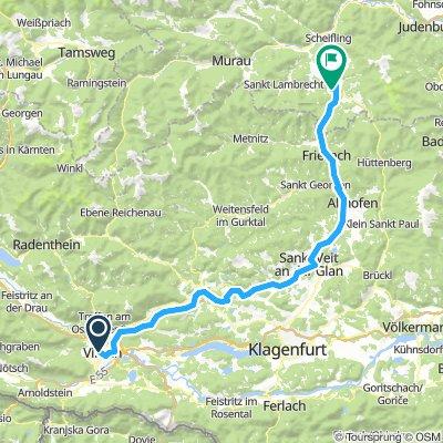 ALPEN 030: Villach - Neumarkt in Steiermark