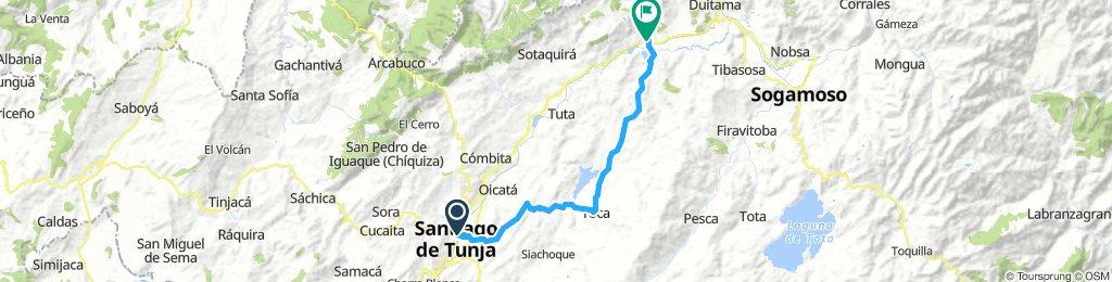 5 etapa Tunja - Paipa