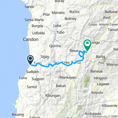Tagudin to Sagada via Besang Pass