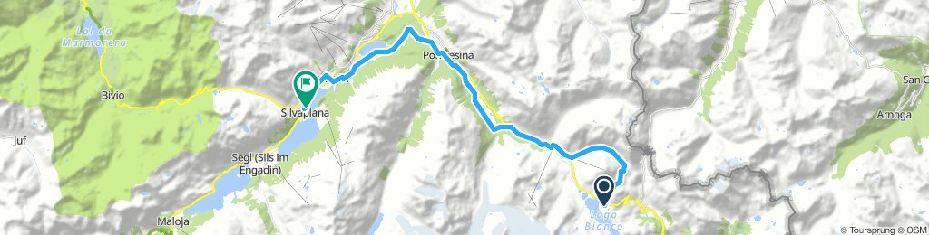 Lengthy Afternoon Route In Silvaplana