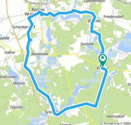 Rundtour am Dahme- und Hofdjagdradweg