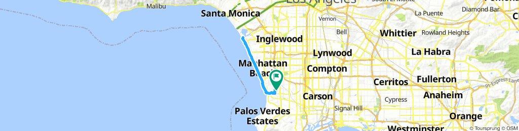 corrida domingo de manhã,Torrance - Marina Del Rey