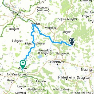 Flüsseradtour Niedersachsen