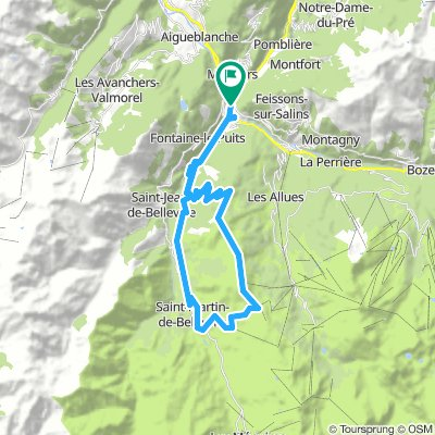 7 Col Ridge Ride Above Méribel