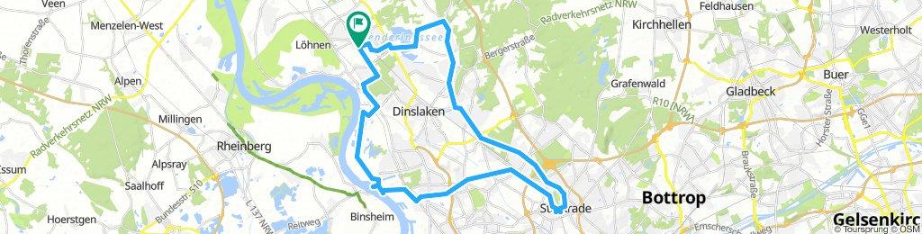 Moderate Sonntag Ride In Bottrop