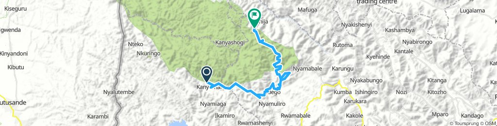 WF Oeganda 15 shortcut