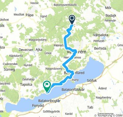ALPEN 036: Zirc/Ungarn - Révfülöp/Balaton