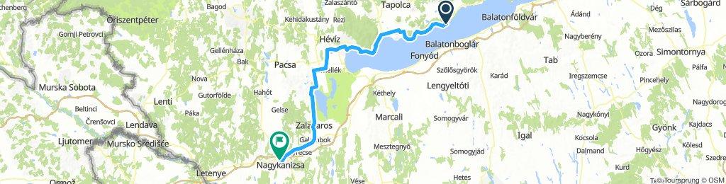 ALPEN 037: Révfülöp/Balaton - Nagykanizsa/Ungarn