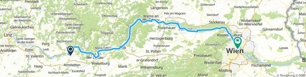 Passau- Wien 2.Tag