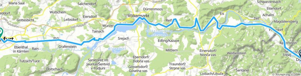 ALPEN 040: Dravograd - Klagenfurt