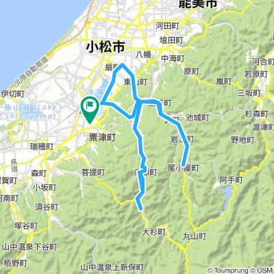 Komatsu Tetsujin Race 2018 Course