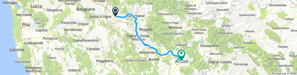 I 005: Florenz - Arezzo