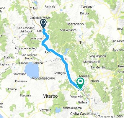 I 007: Fabro Scalo - Orte/Tiber (- Rom)