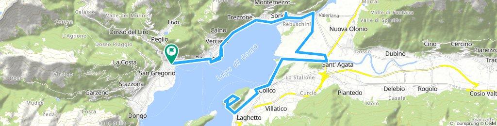 Gravedona - Montecchio Sud - Gravedona