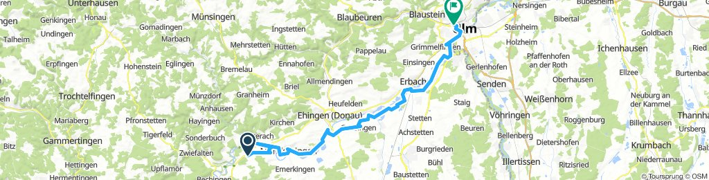 Day 6 - Obermarchtal to Ulm