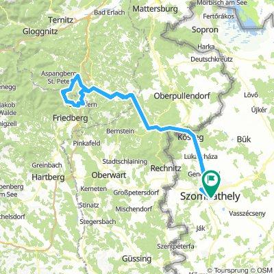 Más úton Mönichkirchenbe