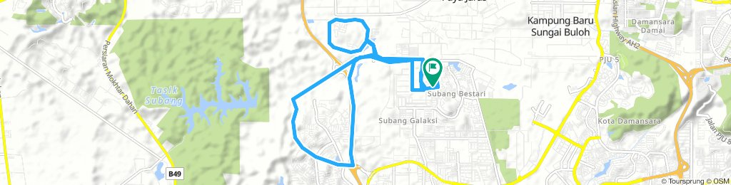 Steady Wednesday Route In Sungai Buloh