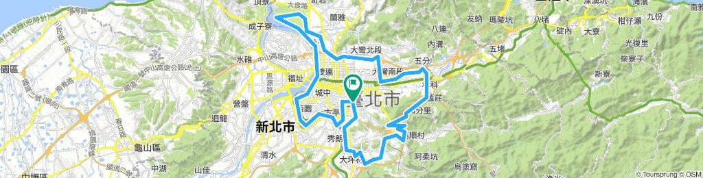 台北市 75 km