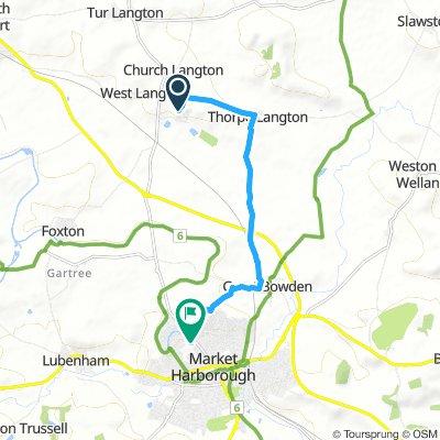 East Langton to Fairfield Road