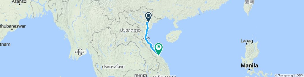 Ha Noi to Hue