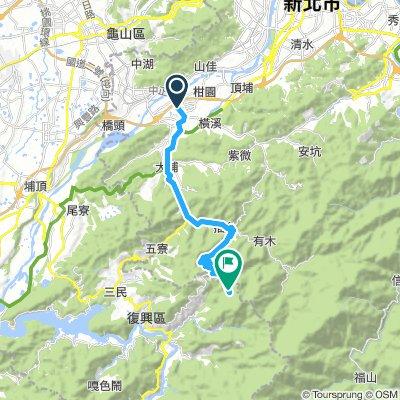 三峽 to 東眼山