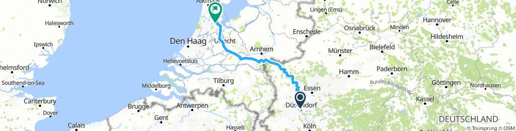 2.Tag Düsseldorf - Amsterdam