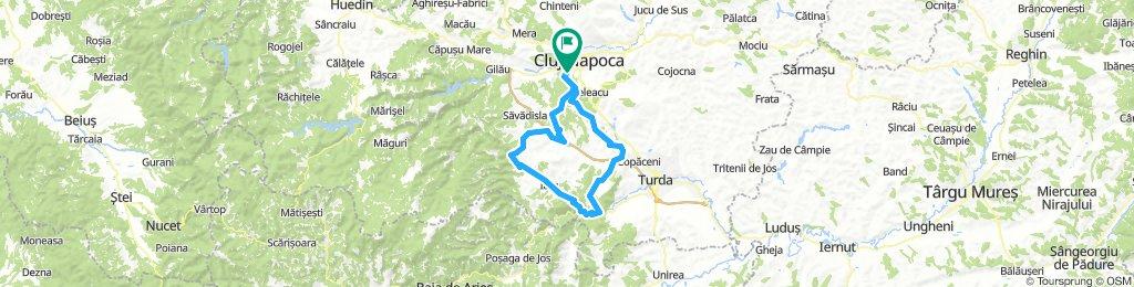 Cluj-Napoca - Cheile Borzesti - Cetatea Liteni - Cluj-Napoca