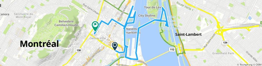 Montreal Stadtrundfahrt