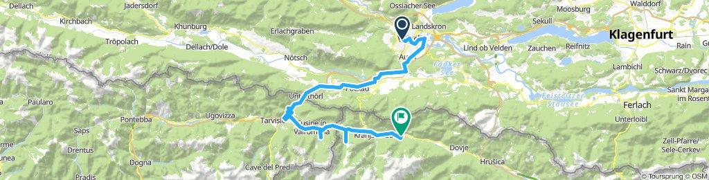2 Etap - Villach - Kranjska Gora