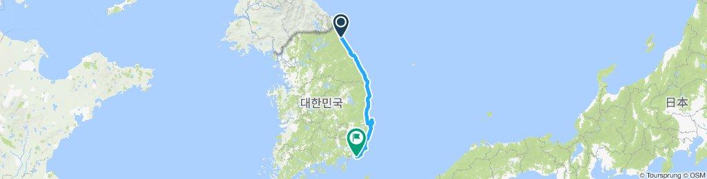 Sokcho - DMZ - Busan