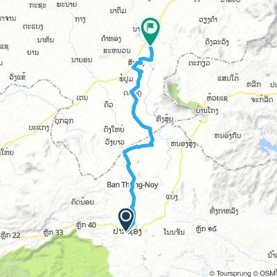 Paksong to Tad  Lo 55 km