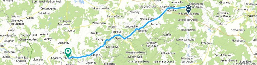 11 Ville-sous-la-Ferté - Étourvy Jakobsweg