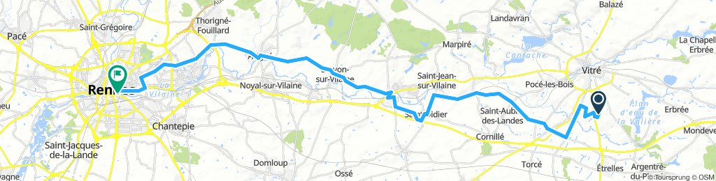 Brittany Tour day 3 - Vitre to Rennes