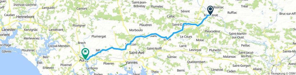 Brittany Tour day 5 - Malestroit to Auray