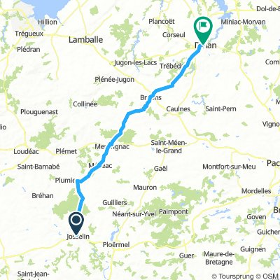 Brittany Tour day 7 - Josselin to Dinan